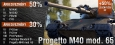 Top of the Tree: Progetto M40 mod. 65 (07.01-08.01)